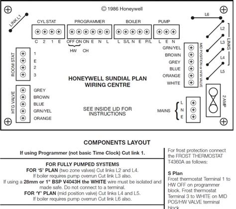 diagrams 7481060 honeywell wiring centre diagram