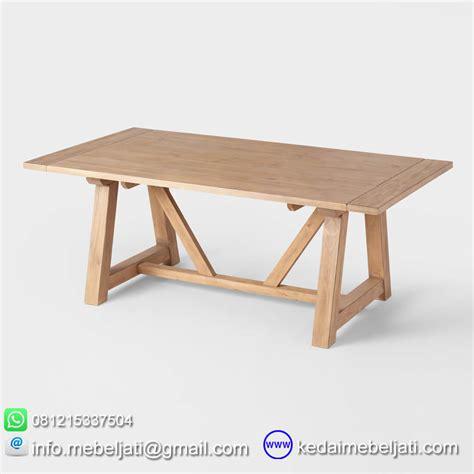 Meja Makan Jati Dan Harga beli meja makan tarik model minimalis jati jepara harga