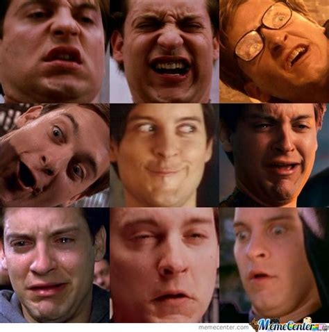 Peter Parker Meme Face - many faces of spiderman by meemimana meme center