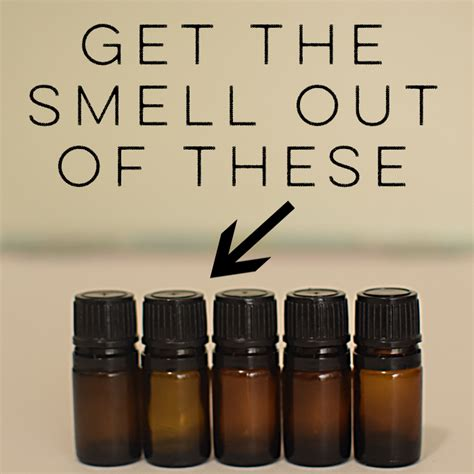 How To Get Throw Up Smell Out Of by How To Get The Smell Out Of Used Essential Bottles