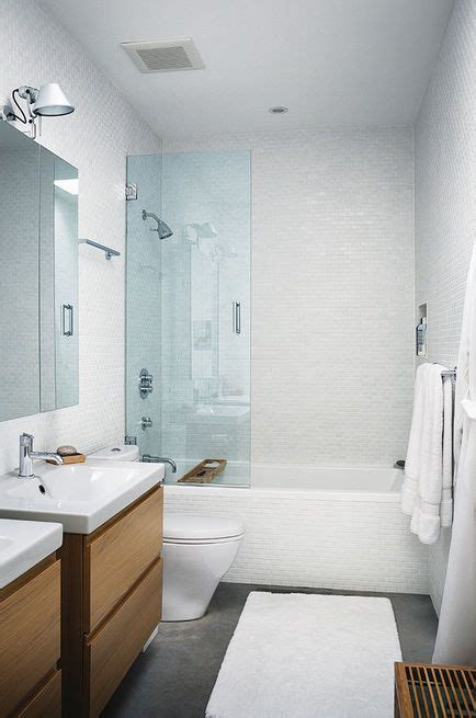 ikea master bathroom modern lakeside retreat stripped down to the basics toilets vanities and glasses