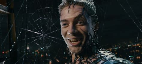 james spader face shape spider man spinoff venom movie back in action at sony