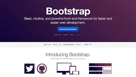 bootstrap layout getting started getting started with bootstrap