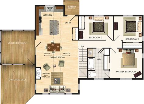 home hardware floor plans beaver homes and cottages lindhill ii