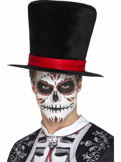 day of the dead top hat 163 3 99 halloween hats halloween