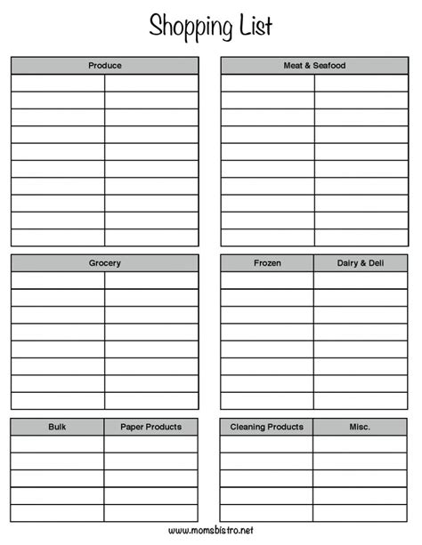 free printable grocery list walmart walmart grocery list template website resume cover letter