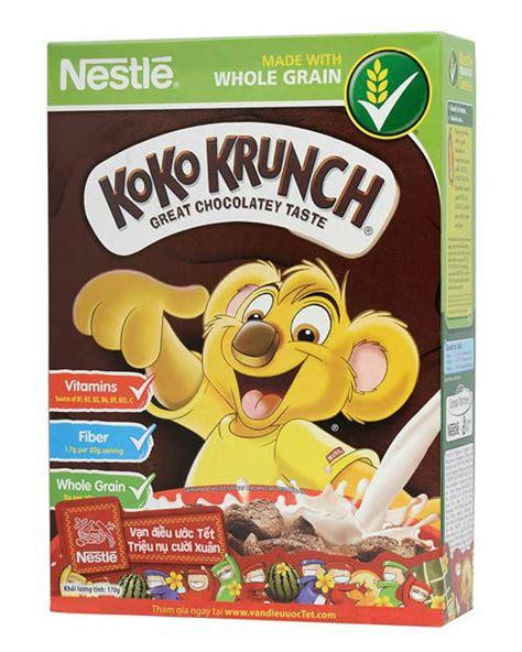 Koko Krunch 80g by Koko Krunch Breakfast Cereal Whole Grain Breakfast Cereal