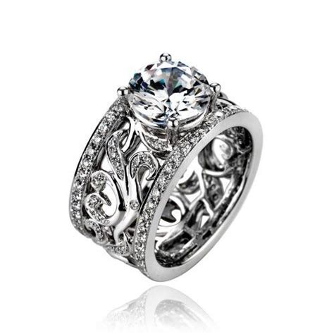 best 25 wide band rings ideas on