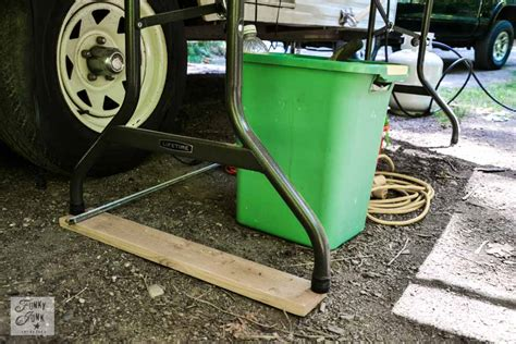 Costco Picnic Table Tips For Camping In A Travel Trailerfunky Junk Interiors