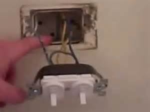 how to wire a double switch wiring a switch conduit