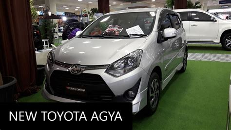 New Toyota Agya 1 2 new 2017 toyota agya 1 2 trd s exterior and interior