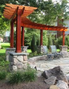 Pergola With Fire Pit by Pergola Amp Fire Pit Patio Gardening Pinterest