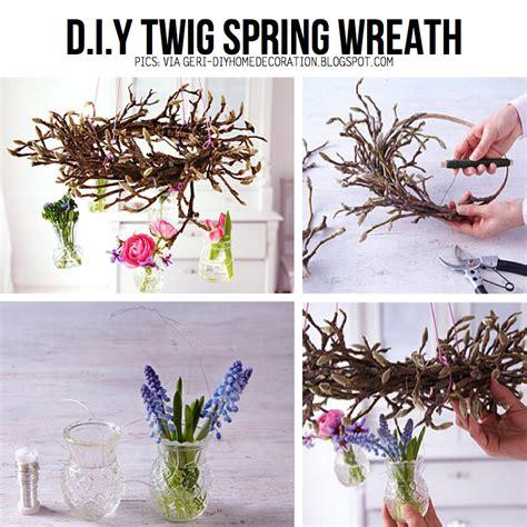 diy twig wreath gettin twiggy with it diy ideas for twigs sticks
