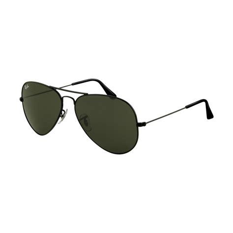 Frame Rayban ban aviator sunglasses black frame with green lenses rb3025 14 myeyewear2go