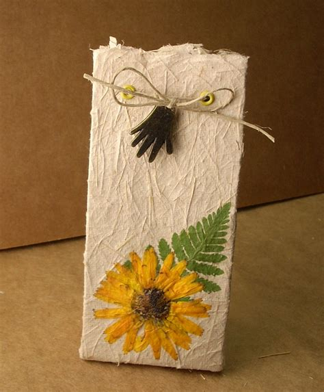Handmade Paper Bags Tutorial - liz s studio one a day in may day 6 paper bag