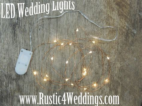 rustic string lights rustic 4 weddings led lights battery operated
