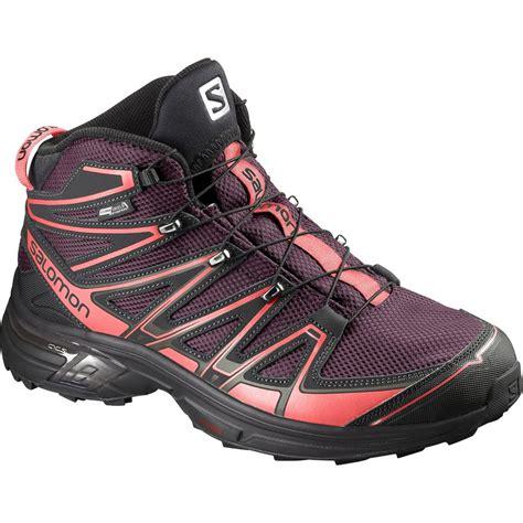 salomon x mid cs wp hiking boot s
