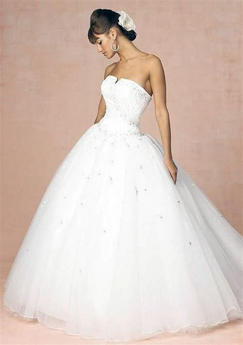 Princess Wedding Dress White   Inofashionstyle.com