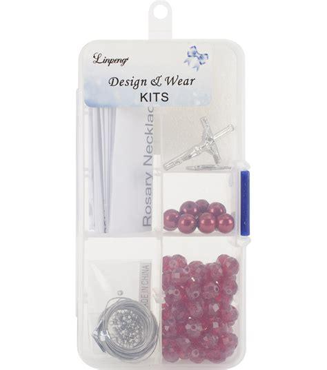 rosary bead kits pearl rosary bead kit jo