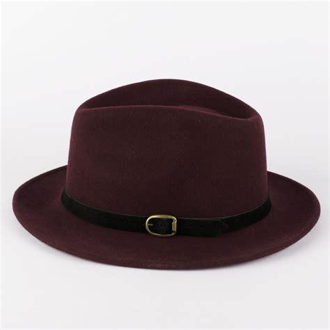 Handmade Wool Hats - 100 wool fedora hat with suede belt handmade in italy ebay