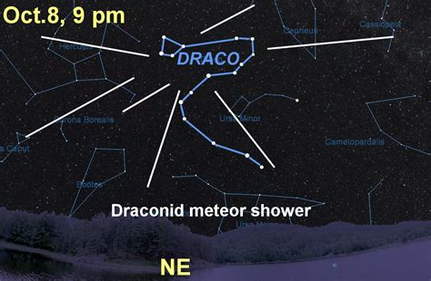 Meteor Shower October 8 by Draconid Meteor Shower 2016 How To See Photos