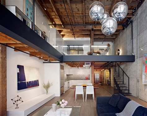 warehouse appartment warehouse in san francisco converted into contemporary