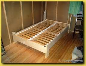 Bed Frame Diy Plan Pdf Diy Bed Frame Plans Bed Furniture Plans
