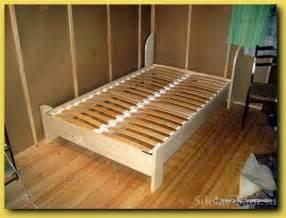 Plans For Building A Bed Frame Pdf Diy Bed Frame Plans Bed Furniture Plans