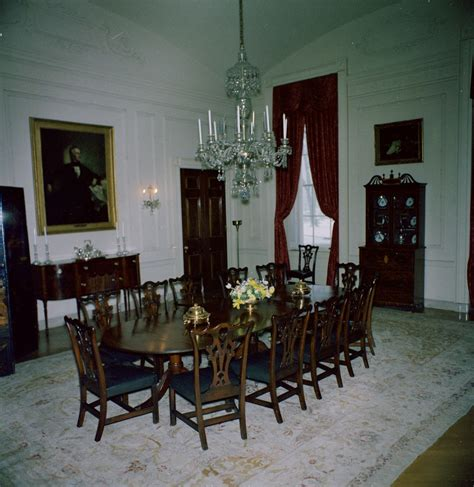 family dining room white house rooms family dining room f kennedy