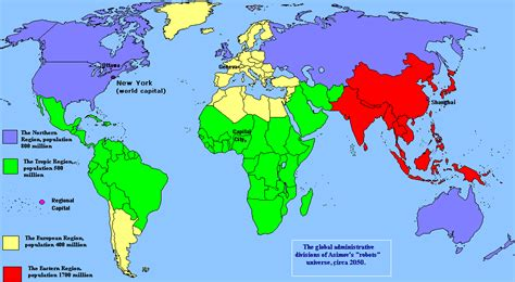 africa map divided into regions the world divided into four regions according to