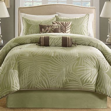 jcpenney bed comforters bermuda 7 pc comforter set