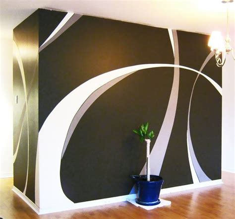 1000 ideas about wall painting design on wall