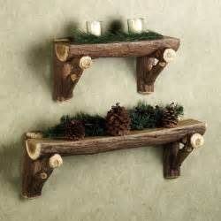 log shelves bring a of nature into your home
