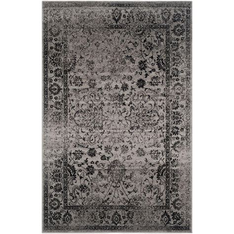 8 x 10 grey area rug safavieh adirondack grey black 8 ft x 10 ft area rug adr109b 8 the home depot