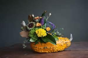 11 stunning fall floral arrangements with pumpkins gourds