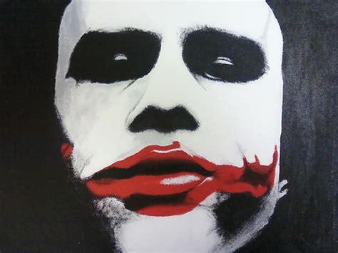 acrylic painting of joker the joker acrylic painting flickr photo