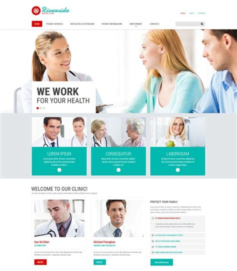 70 Best Health And Medical Website Templates Free Premium Freshdesignweb Research Website Template