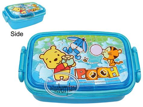 Winnie The Pooh Lunch Box Gift Set bento lunch box hong kong review bento lunch nobu