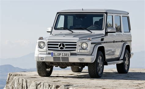 mercedes benz jeep 2013 2013 mercedes benz g class suv revealed with amg models