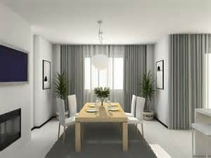 Dining Room Curtains Ideas Living And Dining Room Curtain Color Room Decorating