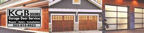 garage door repair beaverton beaverton overhead door repair service sales kgb doors