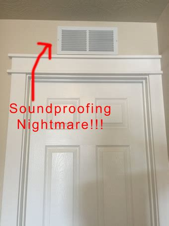 soundproof furnace closet how to soundproof an above door air vent soundproof expert