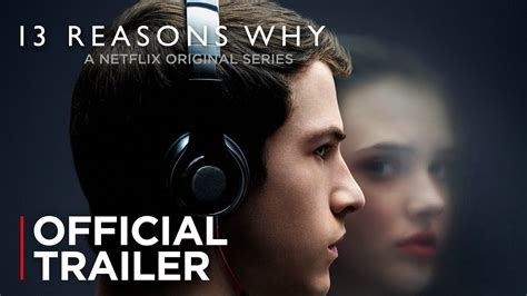 13 Thirteen Reasons Why Asher Netflix Cover 13 reasons why official trailer hd netflix