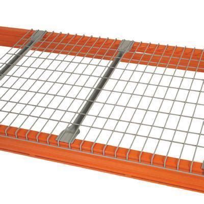 wire mesh decking shelving racking key