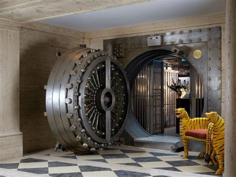 Private Dining Rooms Los Angeles lavish bank vault bars the ned