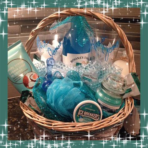 Wedding Anniversary Gift Basket For Him by Wedding Or Honeymoon Gift Basket For Him And Couples