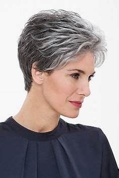 thin wavy salt and pepper hair styles for women 21 impressive gray hairstyles for women grey hairstyle