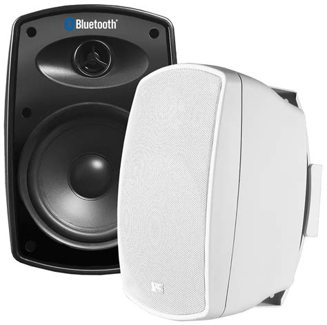 Patio Bluetooth Speakers by Btp650 Wireless 6 5 Quot Bluetooth 2 Way Outdoor Patio Speaker