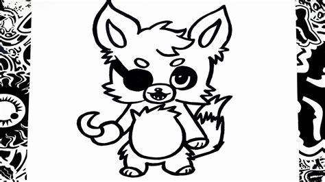 imagenes de foxy kawaii para dibujar como dibujar a foxy anime how to draw foxy youtube