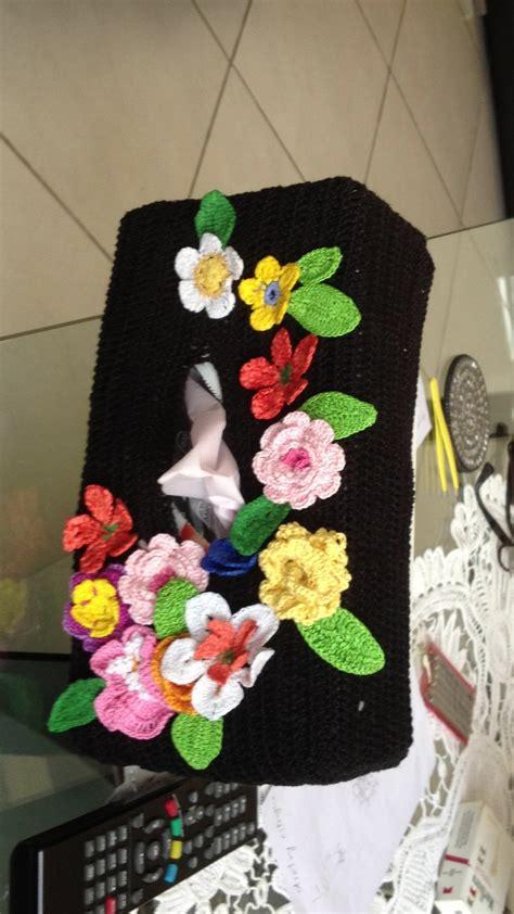 Tissu Napkin Eropa Motif Er035 cover for tissu box from crochet crochet crochet tissue boxes and tissue